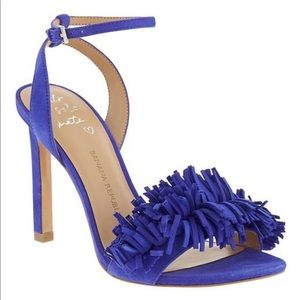 BANANA REPUBLIC HONEY FRINGE SANDAL